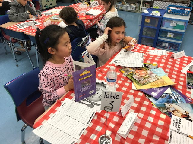 Second Graders Enjoy A Book Tasting To Welcome Their Nonfiction Reading Unit!