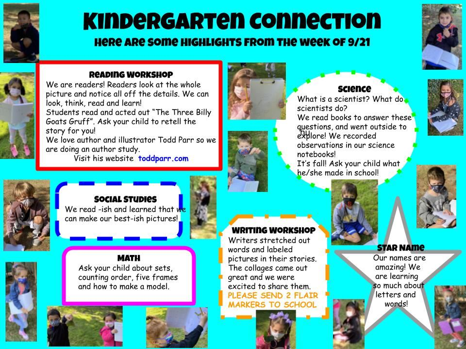 Connect with Kindergarten!
