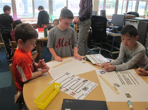 Students designed their own tour of the Museum of Natural History.