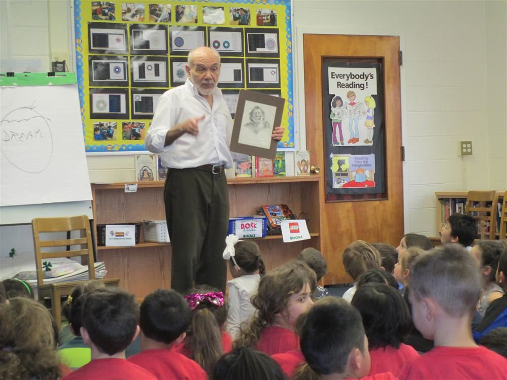 Fiction & Fantasy Author Bruce Coville Visits A.P. Willits School!