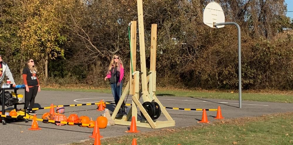 The Punkin' Chunkin' Contest!