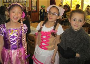 First graders in costume!