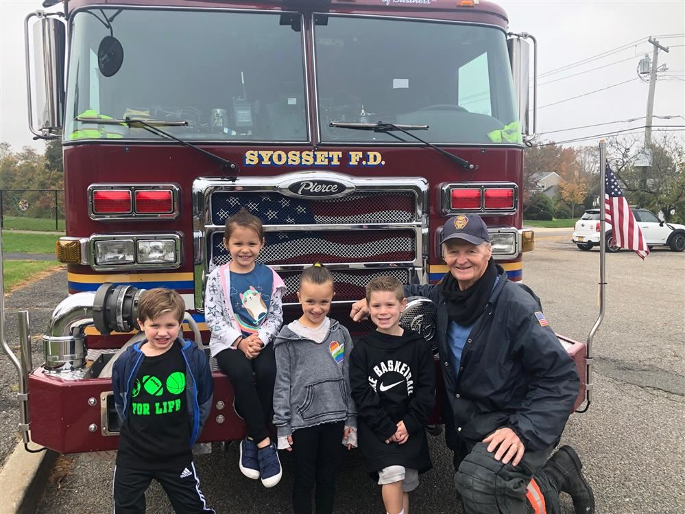 A Firefighter Visits Kindergarten!