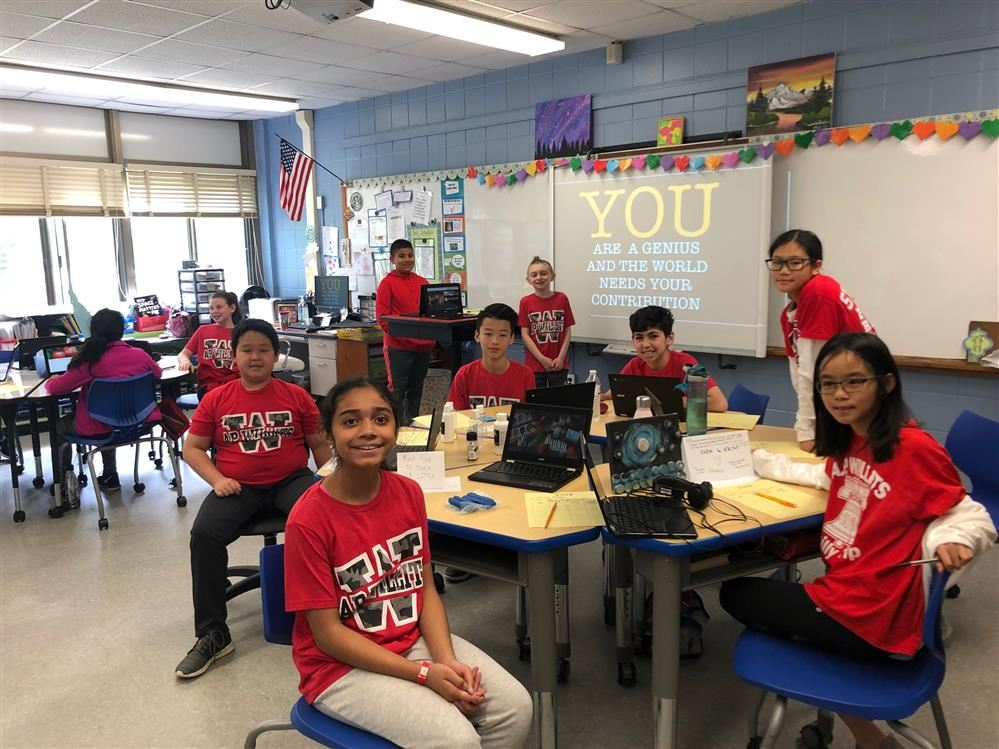 Fifth Graders at Willits Chose Their Own Adventure By Participating in Genius Hour!