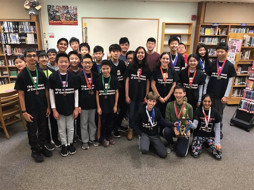 science Olympiad students