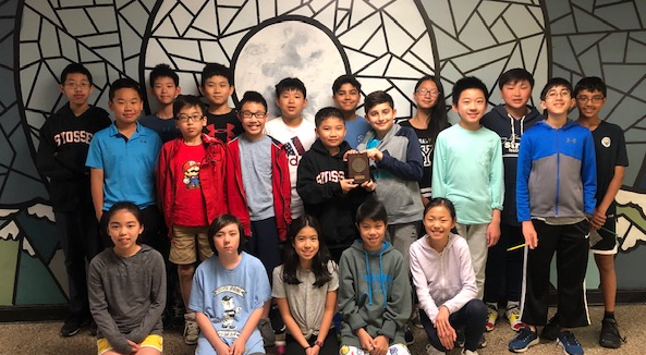 Students in 6th Grade Math Olympiads