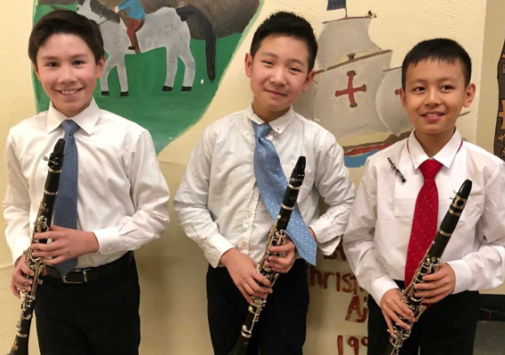 Students at NYSSMA