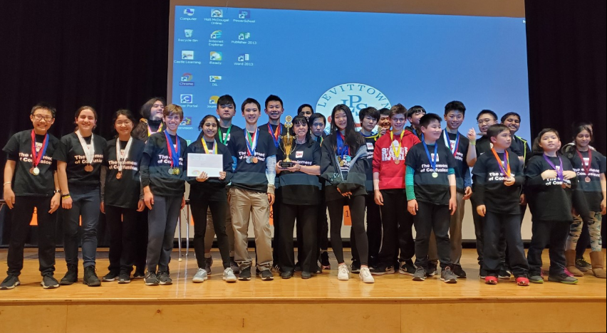Science Olympiad Team Takes First Place at Regional Competition