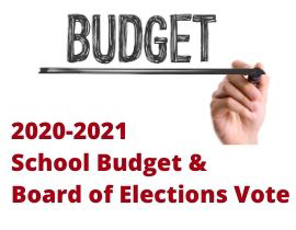 2020-21 Budget & Board of Elections Vote