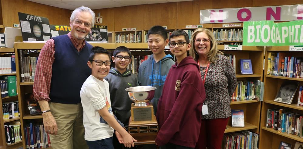 SWMS Students Win CP Association Trivia Competition