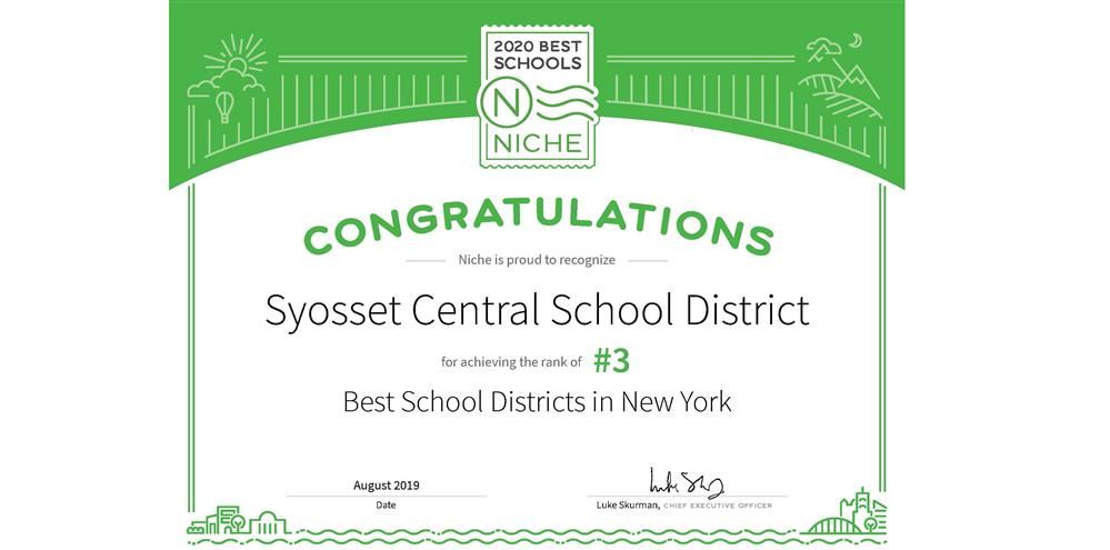 Syosset Central School Dist / Homepage