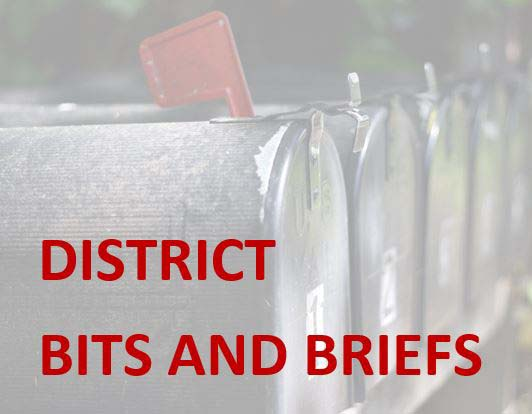 District Bits and Briefs
