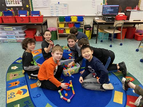 WW students cooperatively playing on Global Play Day.