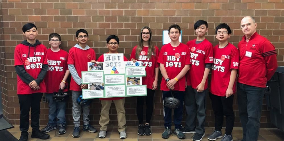 First Lego League Championship at Longwood High School