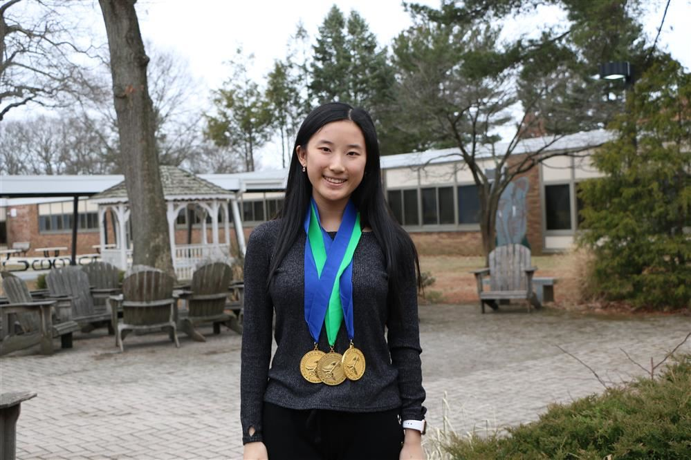 Sabrina Guo received two Gold Key awards in the 2020 Scholastic Art & Writing Awards Regional Competition.