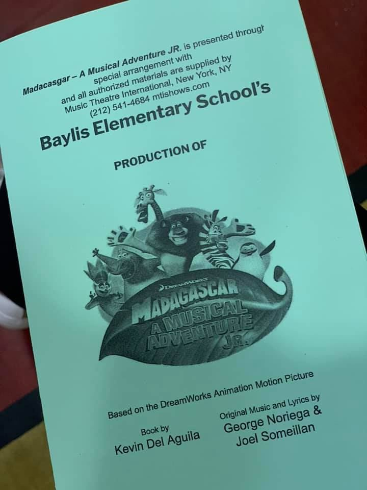 Baylis Students Perform Madagascar