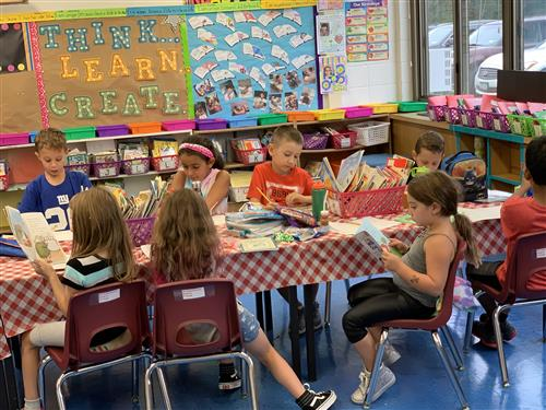 Ms. Aschenbrenner's Reading Cafe